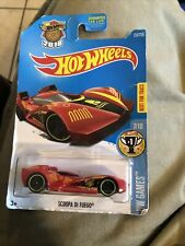 Hot Wheels 2016 HW Games Scoopa Di Fuego Red Die-Cast #237/250 Best For Track