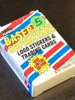 1988 Fleer Superstars Baseball 44 Card Set With Mark McGwire