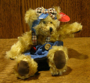 """Russ Berrie #100343 WINIFRED  5"""" BEARS FROM THE PAST Mint/Tags From Retial Store"""