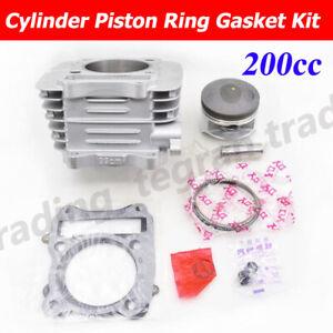 Cylinder Piston Gasket Kit For SUZUKI DR200 DR200S DR200SE DR 200 DF200