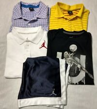 Boy's Preteen Jordan & Nike Clothing Lot Size M 5 Pcs