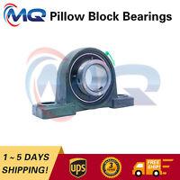 "1*Premium UCP211-32 Solid Base Pillow Block Bearing 2"" Bore Self Aligning 2 Bolt"