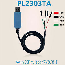 10 x PL2303TA USB TTL to RS232 Converter Serial Cable module for win 8 XP 7 8.1