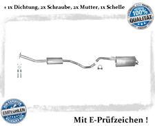 Auspuffanlage Nissan Micra III 1.2 1.4 Auspuff Dichtung Schelle Bj. 2005-2010