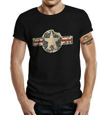 GASOLINE BANDIT T-Shirt USA Stern Shirt für den US Army Fan S - 4XL