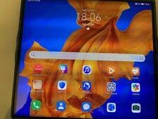 Huawei Mate Xs mai usato con custodia in pelle originale