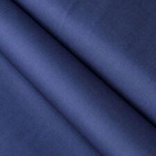 Baumwollstoff UNI Farbe Marineblau 100% Baumwolle einfarbig