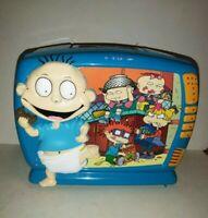 Vintage Rugrats 3D Plastic Lunchbox w/ cup 1998