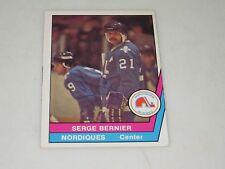 SERGE BERNIER AUTOGRAPHED 1977-1978 OPC O-PEE-CHEE WHA CARD