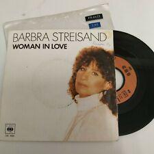 "Barbara Streisand - woman in love - 7"" vinyl single - France"