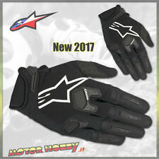 GUANTO CROSS ENDURO ALPINESTARS RACEFEND GLOVE BLACK WHITE TAGLIA S