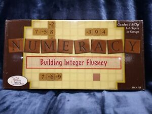 Numeracy Building Integer Fluency Board Game EDUCATIONAL MATH Learning Game NEW