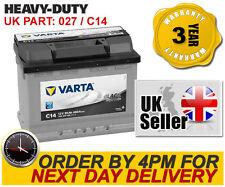 C14 Varta Black Dyn 027 Car Battery fits Citroen Fiat Hyundai Land Rover Merc