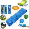 Inflatable Air Mattress Sleeping Pad Pillow Outdoor Bed Camping Hiking Tent Mat