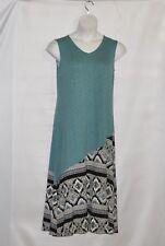 Joan Rivers Petite Length  Sleeveless Maxi Dress Size SP Blue