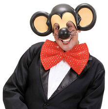 TOPOLINO Maschera con grandi orecchie NUOVO - CARNEVALE CAPPELLO BERRETTO