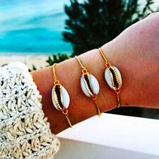 Women Boho Cowrie Shell Anklet Bracelet Gold Chain Barefoot Sandal Jewelry Gifts