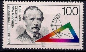 Germany 1994 von Helmholtz Physics Physiology Mathematics Science People 1v MNH