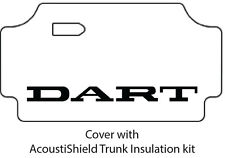 1967 1969 Dodge Dart Trunk Rubber Floor Mat Cover with MA-015 Dart