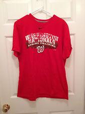 Washington Nationals Nike Standard Fit 2011 MLB Spring Training T-Shirt XL