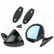2pcs Universal Classic Car Door Side Mirror Vintage Black Rear View Accessories