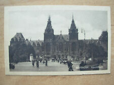 VINTAGE POSTCARD RIJKSMUSEUM MUSEUM OF THE NETHERLANDS AMSTERDAM HOLLAND