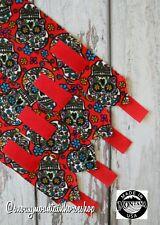 Horse Polo Leg Wraps Stable Wraps Set Of 4 Sugar Skulls Red