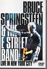 BRUCE SPRINGSTEEN & THE STREET BAND - Live In New York City, 2xDVD US 2001