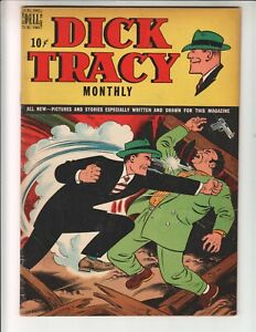 Dick Tracy Monthly 24 F+ (6.5) 12/47 Dell Comics! Last issue in this title!
