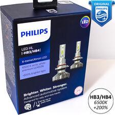 PHILIPS HB4 HB3 LED Xtreme Ultinon Car Headlight Fog Bulbs 6500K +200% 9006 9005