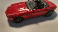 BMW Z8 convertible color red scale 1:59 produktion no.6028