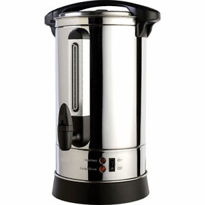 PU35 PROCHEF Professional Stainless Steel 35 Cup Insulated Hot Water Urn NEW!!!
