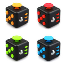 Magic Fidget Cube Toy Anxiety Stress Attention Relief Focus 6-side Kids Gift