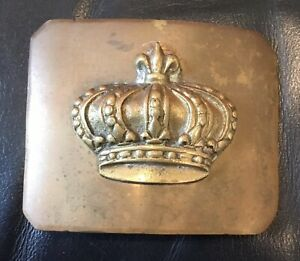 French Army Belt Buckle from King Louis XVI Reign or Earlier