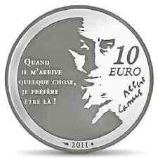 FRANCE 10 Euro Argent BE 2011 Littérature l'Etranger - Silver coin