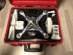 Dji phantom 2 - Drohne - Kamera - 3 Akkus - Koffer - viel Zubehör
