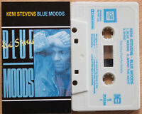 KENI STEVENS - BLUE MOODS (JAM TODAY ZCKENI1) 1987 UK CASSETTE TAPE