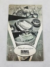 Making The Most Of Your Servel Electrolux 1941 Recipe Book Printed In Usa P2