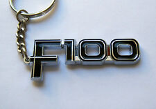 FORD F100 KEY CHAIN NEW CHROME KEY RING keyring