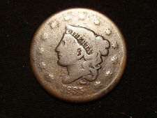 VERY RARE!!! 1835 Coronet Head Large Cent N-19 Variety PRICE LOWERED!