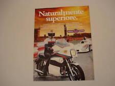 advertising Pubblicità 1979 MOTO YAMAHA 1.1 MARTINI
