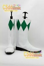 Power Rangers Green Rangers cosplay boots shoes