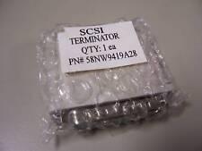 58Nw9419A28 25-Pin Scsi Terminator (male)