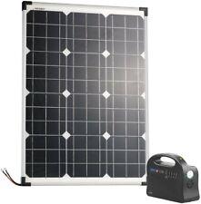 revolt NX-6127-919 Powerbank & Solar-Konverter - Schwarz, 12/230V