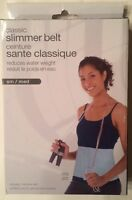 Classic Slimmer Belt - Reduces Water Weight - Size Small/Medium - Brand New
