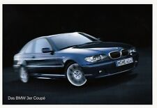 BMW 3 3er E46 COUPE Touring Compact Edition Sport Lifestyle Prospekt Brochure 9
