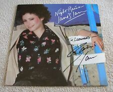 Janis Ian 1979 Columbia LP Night Rains with Autographed Cover