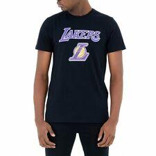 New Era Nba Los Angeles Lakers Team Logo  Camiseta Negro Hombre