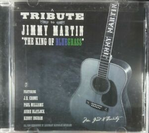 (Autographed / Signed) Tribute to Jimmy Martin - The King of Bluegrass CD