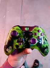 MICROSOFT XBOX ONE WIRELESS CONTROLLER- Made 2 Order- HULK Themed]